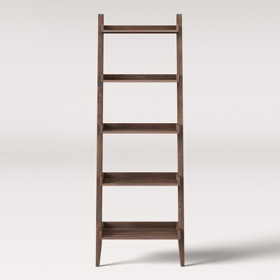 71  Millbury Rustic Wood Ladder Bookcase - Threshold™