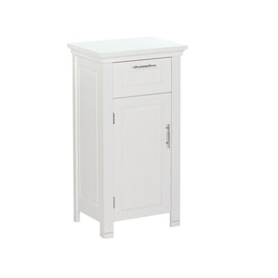 RiverRidge® Somerset Collection Single Door Floor Cabinet - White
