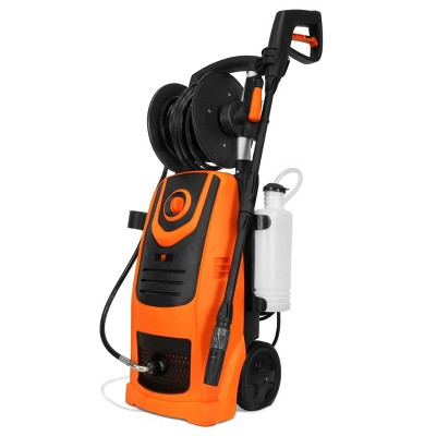 WEN PW22 2100 PSI 1.3 GPM 13.5-Amp Electric Pressure Washer with Variable Flow Power and Hose Reel