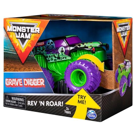 Monster Jam 1:43 Rev & Rumble Trucks Assortment - Graver Digger 2 image number null