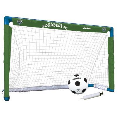MLS Seattle Sounders Size 1 Mini Soccer Goal Set