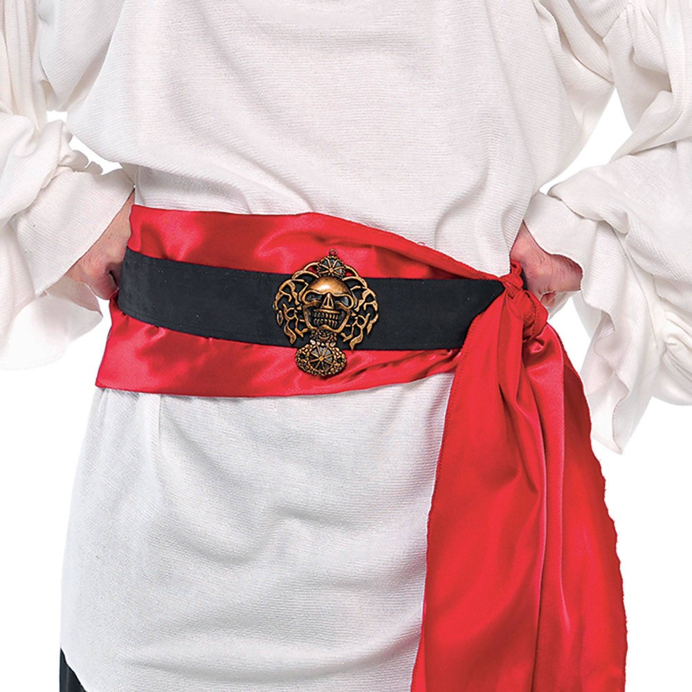 Adult Pirate Belt Accessory Halloween Costume