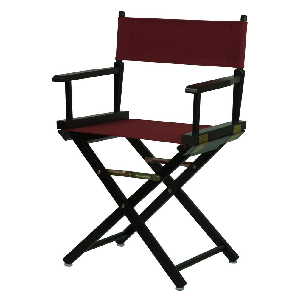 Director S Chair Black Frame Beige Canvas