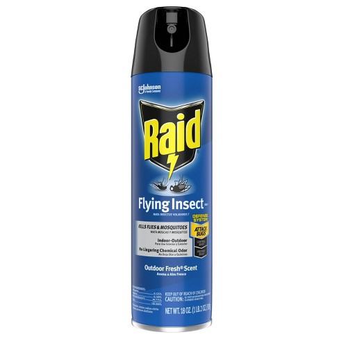 Raid Outdoor Fresh Flying Insect Killer Spray 7 - 18oz/1ct - image 1 of 4