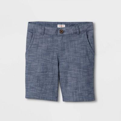 Boys' Flat Front Chino Shorts - Cat & Jack™ Blue