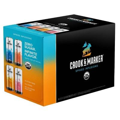 Crook & Marker Spiked & Sparkling Blue Variety Pack - 8pk/11.5 fl oz Cans