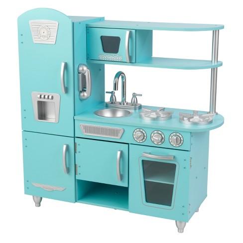 KidKraft Vintage Play Kitchen - Blue - image 1 of 4