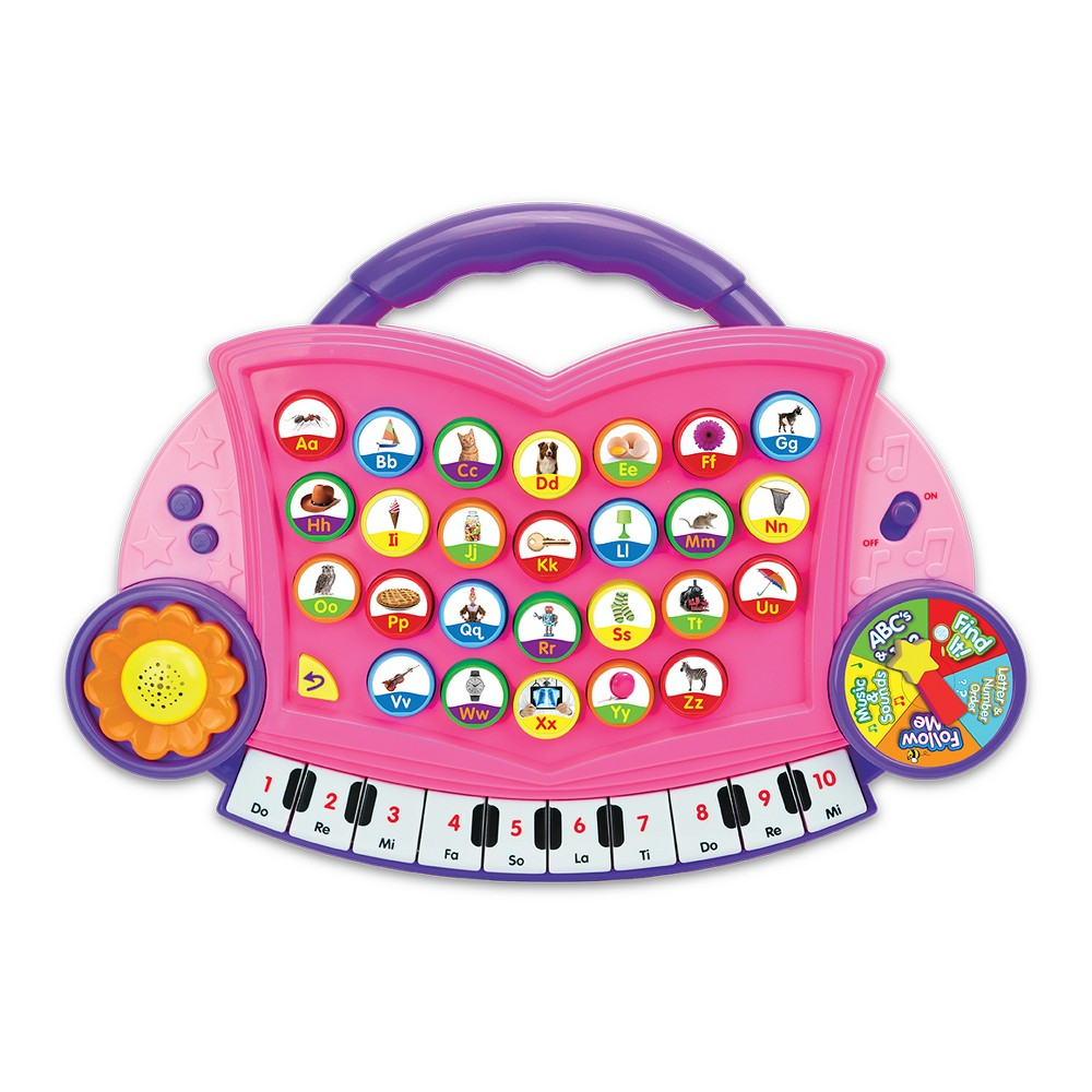 The Learning Journey Abc Melody Maker - Pink