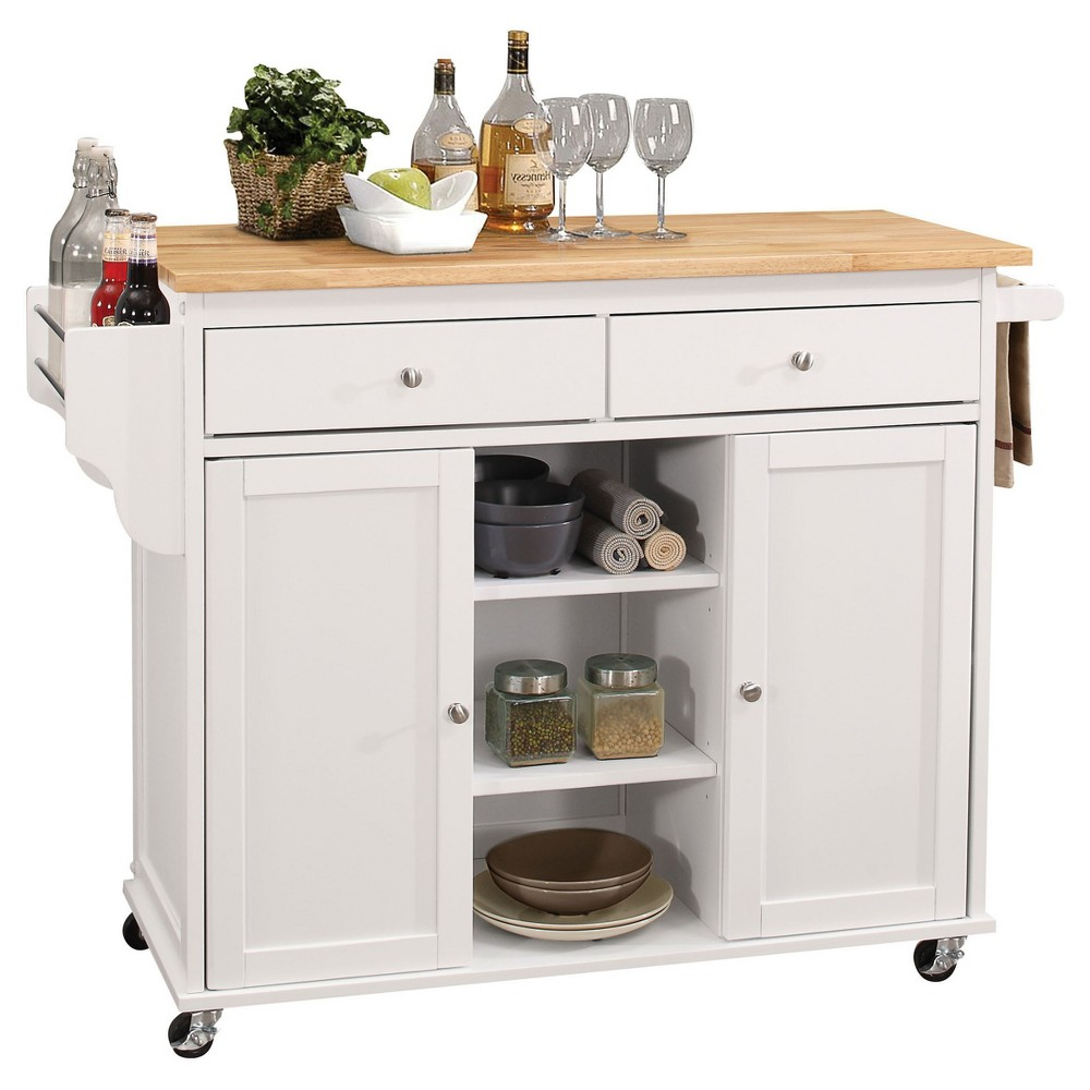Kitchen Island Acme Furniture, White