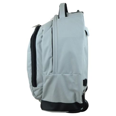 9141935a21 NCAA Texas Tech Red Raiders Gray Premium Wheeled Backpack   Target