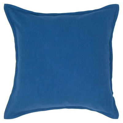 Indigo Solid Throw Pillow 20 x20  - Rizzy Home®