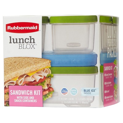 Rubbermaid LunchBlox Sandwich Container Kit