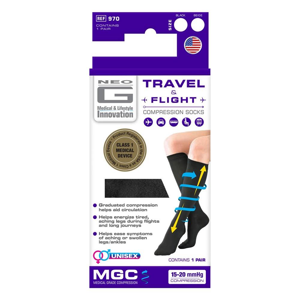 Neo G Travel & Flight Compression Socks - L, Kids Unisex, Size: Large