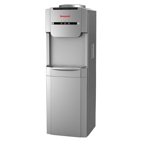 Honeywell Antibacterial Freestanding Top-Loading Water Dispenser Silver - HWBAP1073S - image 1 of 3