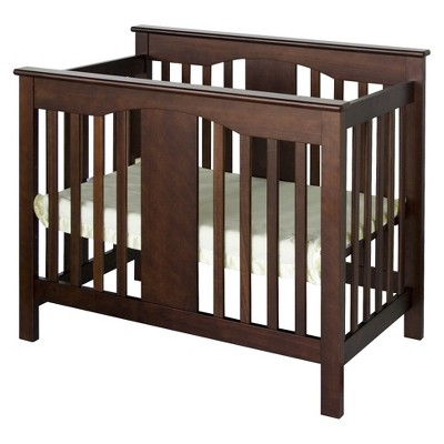 DaVinci Annabelle 2-in-1 Mini Crib and Twin Bed - Espresso