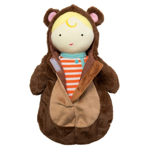 Manhattan Toy Snuggle Baby Doll & Hooded Bear Sleep Sack - image 1 of 4