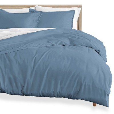 Bare Home Cotton Flannel Duvet Cover and Sham Set
