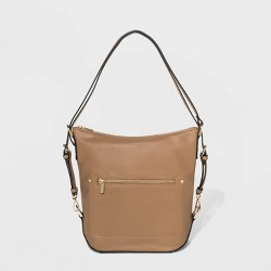 Convertible Backpack Hobo Handbag - A New Day™