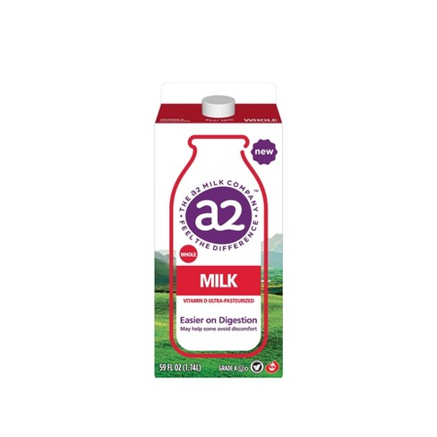 A2 Vitamin D Ultra Pasteurized Milk - 59 fl oz - image 1 of 2