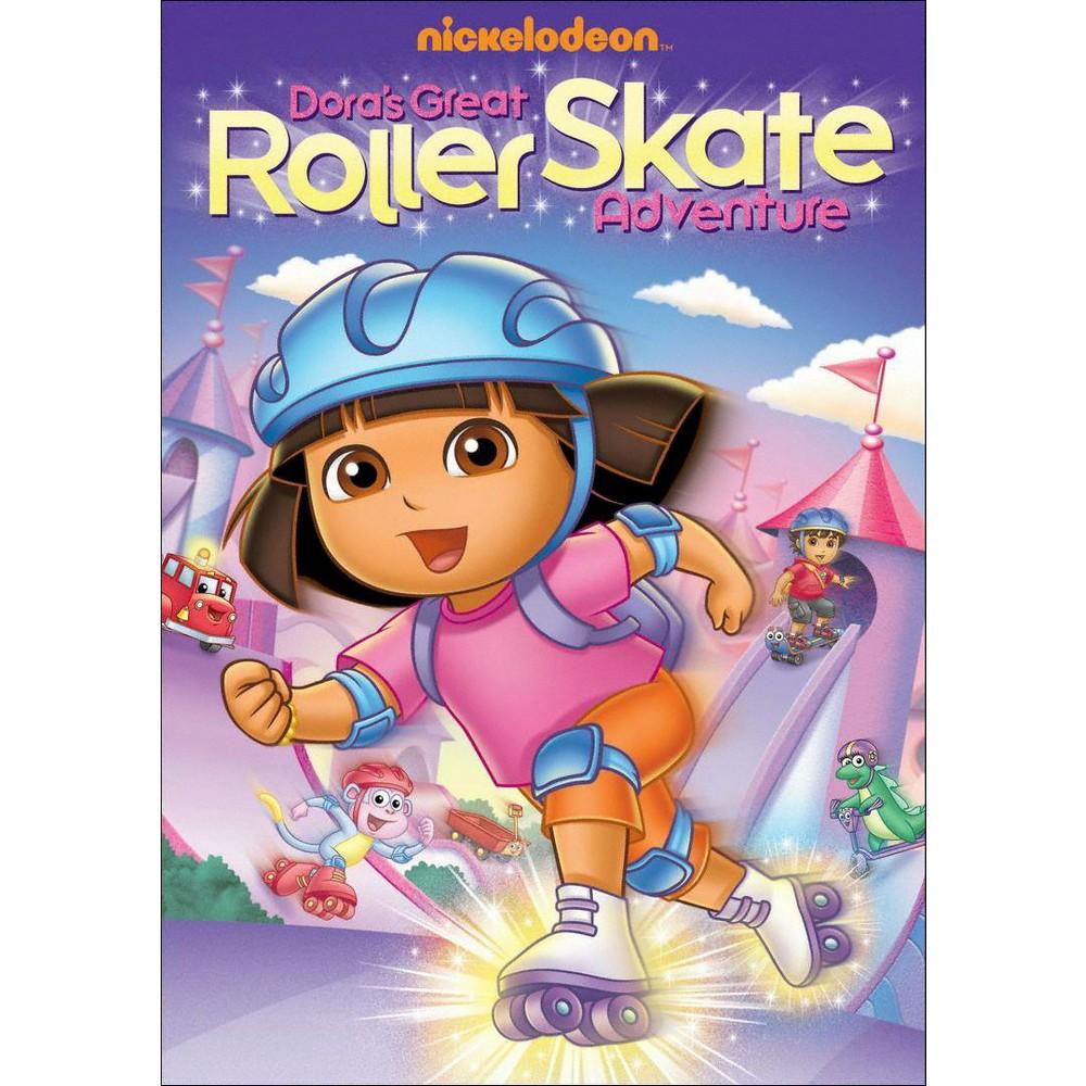 Dora The Explorer Dora 39 S Great Roller Skate Adventure Dvd