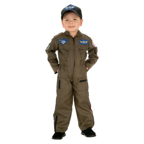 Kids' Jr. Air Force Pilot Costume - image 1 of 1