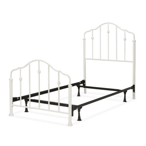 Lorna Complete Kids Bed with Metal Duo Panels Warm White Twin - Fashion Bed Group - image 1 of 5
