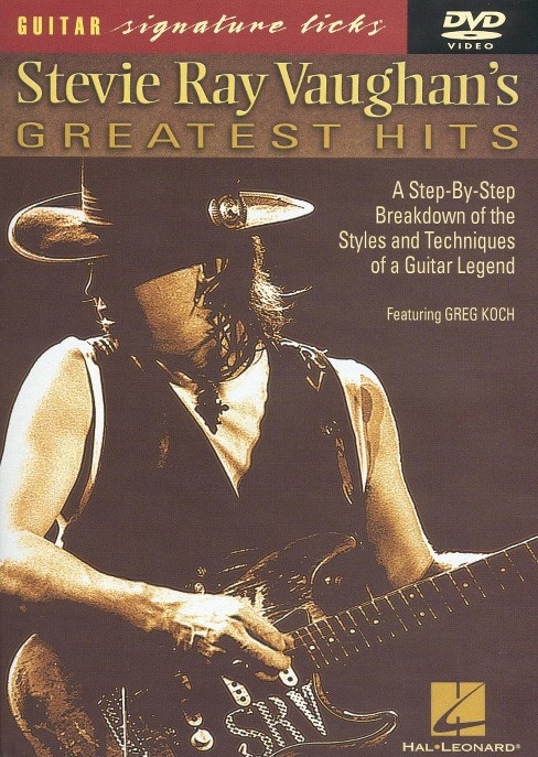 Stevie ray vaughan's greatest hits (DVD) - image 1 of 1