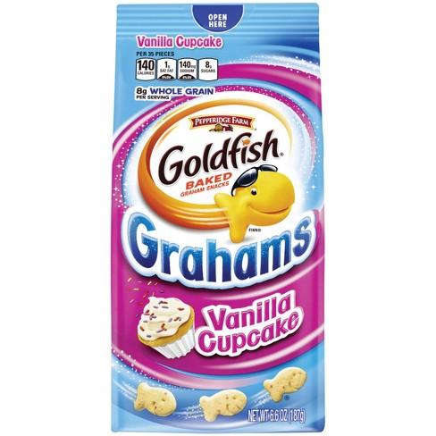 Goldfish- Grahams Vanilla Cupcake Crackers