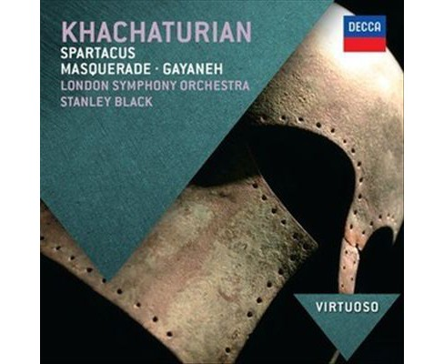 Stanley black - Khachaturian:Spartacus (CD) - image 1 of 1