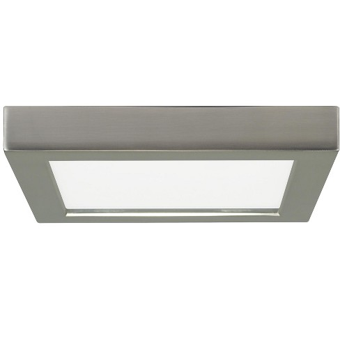 Satco Lighting S29334 7 Wide Integrated Led Flush Mount Square Ceiling Fixture 2700k
