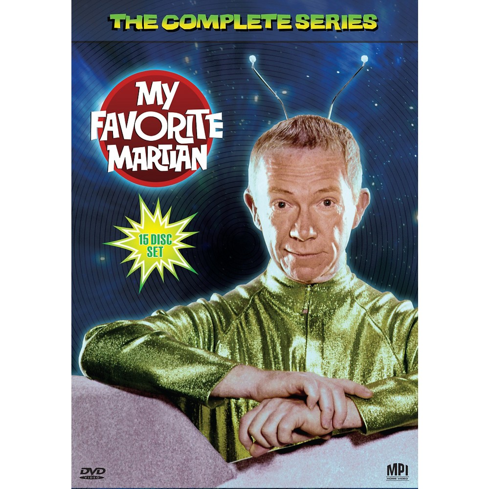 My Favorite Martian:Complete Series (Dvd)