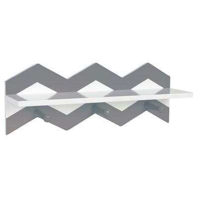 Trend Lab® Wall Shelf - Gray Chevron