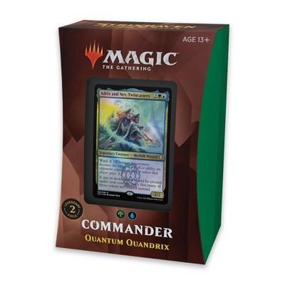 Magic:The Gathering Strixhaven Commander Deck Quandrix