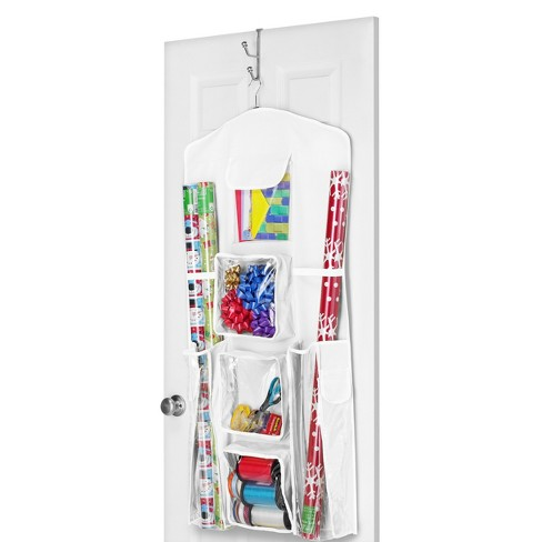 Whitmor Hanging Gift Wrap Organizer - White - image 1 of 1