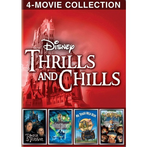 Disney Thrills and Chills: 4-Movie Collection - image 1 of 1