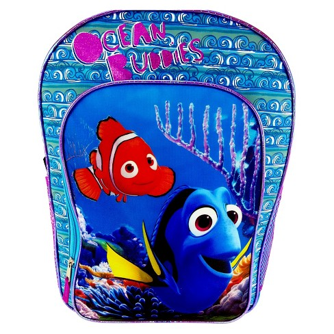 "Finding Dory 16"" Kids' Backpack - Blue/Pink - image 1 of 3"