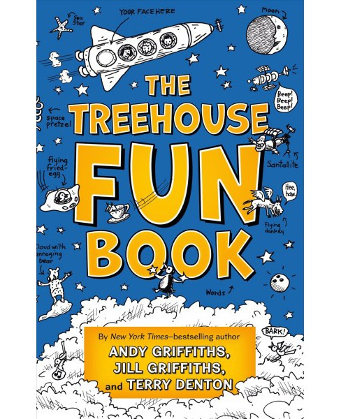 Treehouse Fun Book (Hardcover) (Andy Griffiths & Jill Griffiths & Terry Denton) - image 1 of 1