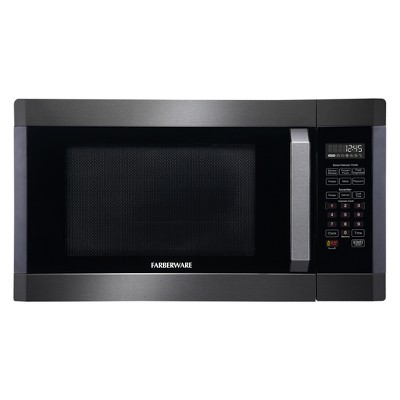 Farberware 1.6 cu ft 1300W Microwave - Black FMO16AHTBSA