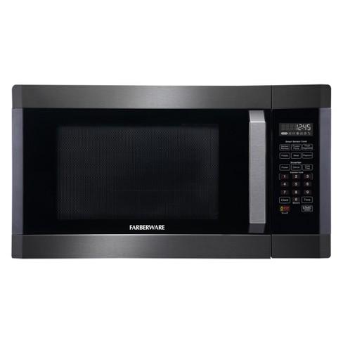 Farberware 1.6 cu ft 1300W Microwave - Black FMO16AHTBSA - image 1 of 6