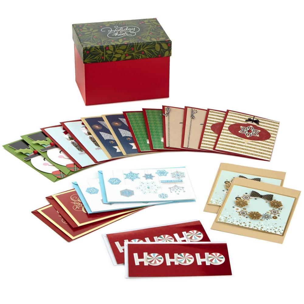 Image of 20ct Hallmark Handmade Special Holiday Greeting Cards