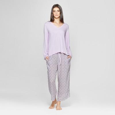 Women's Pajama Set - Gilligan & O'Malley™ Violet L