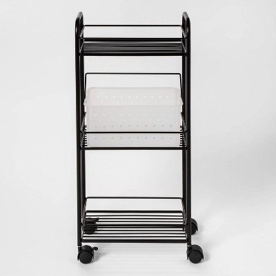 Metal Shower Tower Black - Room Essentials™