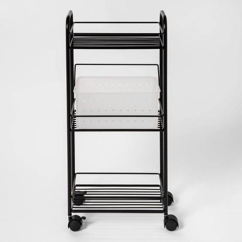 Metal Shower Tower Black - Room Essentials™ - image 1 of 2
