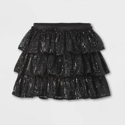 Girls' Tulle Sparkle Holiday Skirt - Cat & Jack™