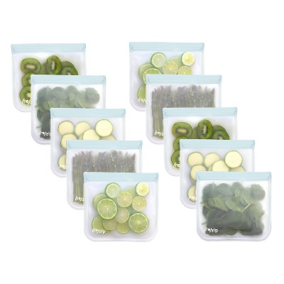 (re)zip Lay-Flat Lunch Family Pack - Clear - 10pk