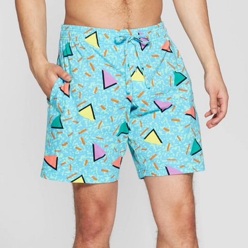 ecec0079cfa02 Men's Swim Club Pajama Shorts - Blue : Target