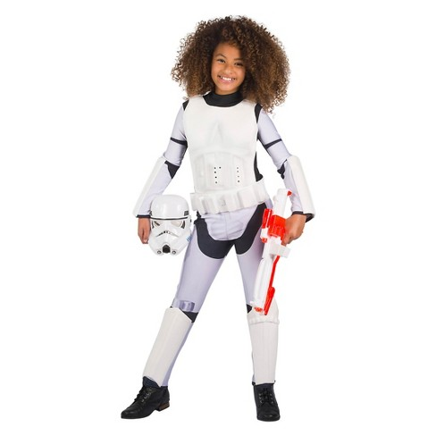Star Wars Girls' Classic Stormtrooper Halloween Costume - image 1 of 1