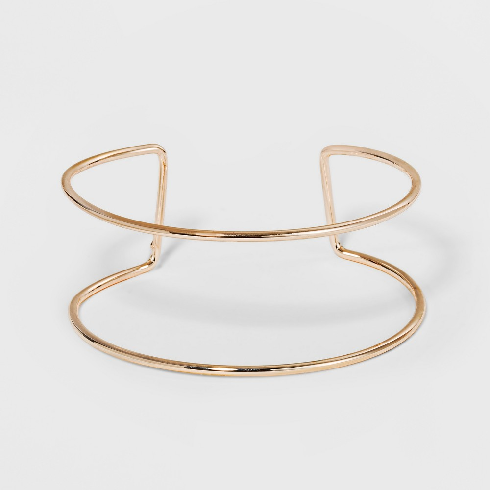 Image of Double Wire Row Bangle - A New Day Rose Gold, Women's