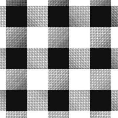 Black/White Check