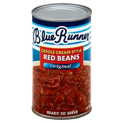 Blue Runner Red Creole Cream Style Beans - 27oz